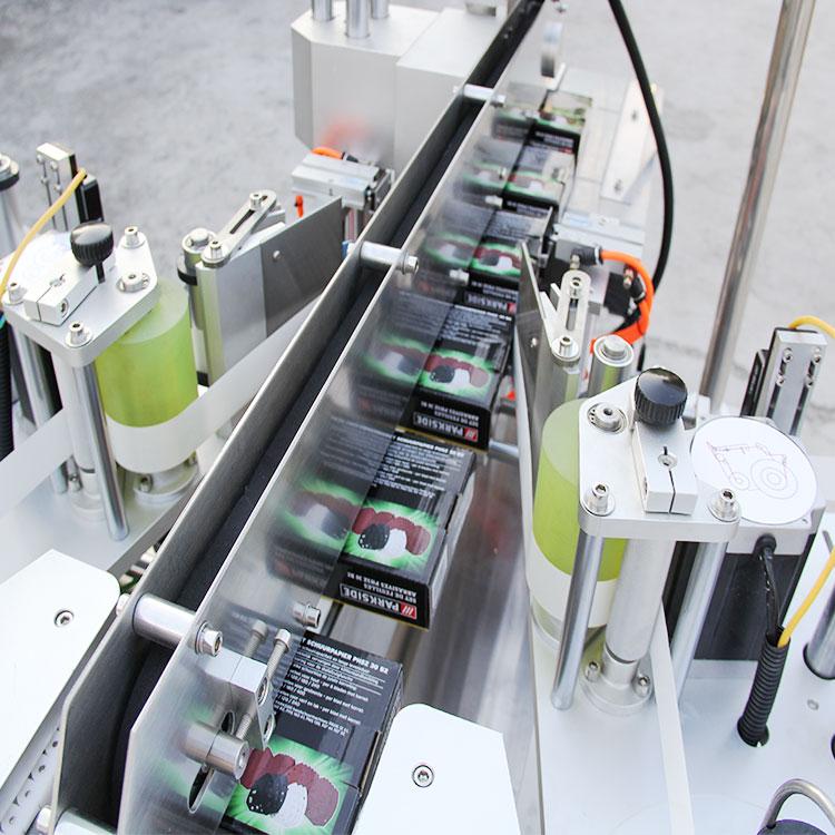 Automatic Carton Box Corner Labeling Machine Details
