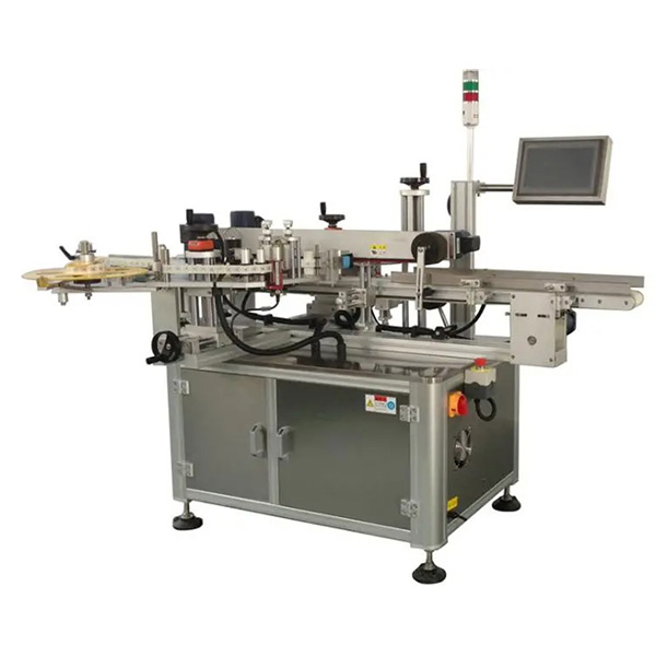Automatic Carton Box Corner Labeling Machine