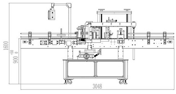 Automatic Front And Back Double Sided Labeling Machine Details