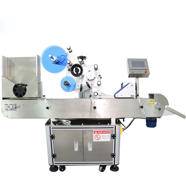 Automatic Horizontal Vial Sticker Labeling Machine