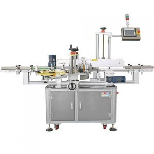 Round Jar Barcode Sticker Wrap Labeling Machine Applicator