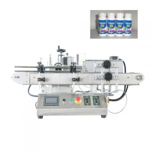 200ml Tapered Glass Juice Bottle Automatic Labeling Machine