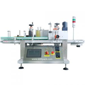 Horizontal Auto Toothpaste Tube Sticker Labeling Machine