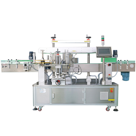 Auto labeling system, auto labeling machine, cards packaging