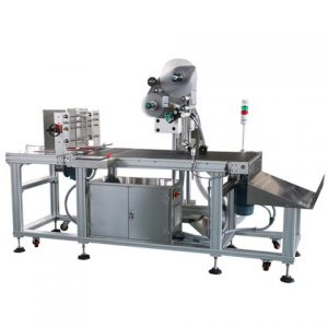 Top Side Condiment Bag Labeling Machine