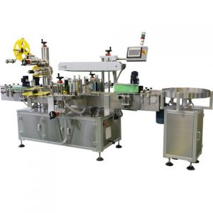 Can Bottle Jar Top Bottom Sticker Labeling Machine