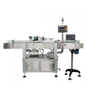 Siemens Configuration Sticker Labeling Machine For Round Bottle
