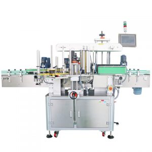 Double Side Oval Bottle Labeling Machine