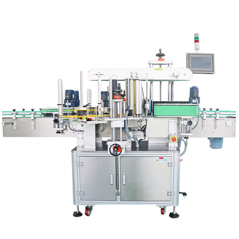 Sticker Lubricating Oil Labeling Machine