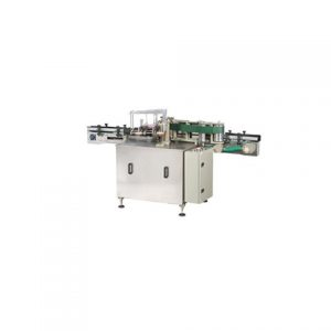 Square Flat Plastic Bottle Adhesive Labeling Machine