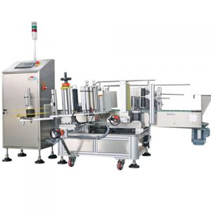 Automatic Food Powder Bag Top Labeling Machine China