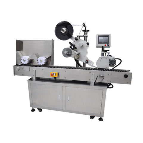 Fully automatic single side sticker labeling machine on Vimeo