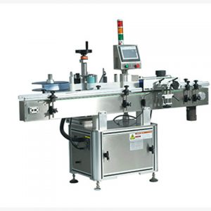 Falt Bottle Double Side Labeling Machine