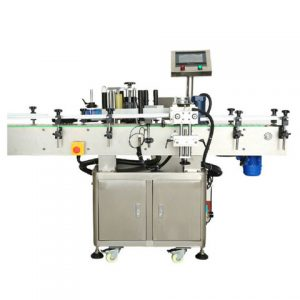 Bottle Cans Carton Box Double Side Labeling Machine