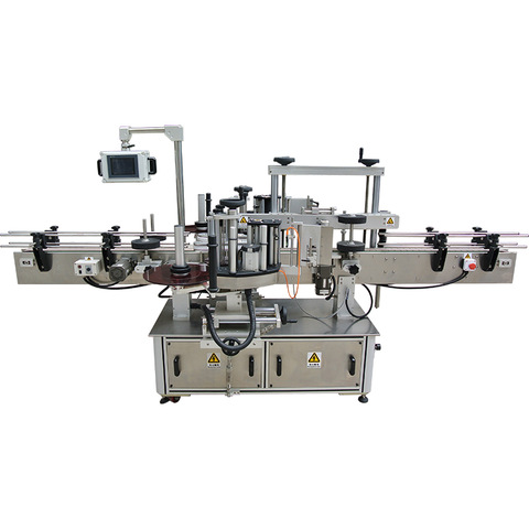 automatic labeling machine for round bottles, automatic ...