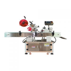 Horizontal Way Automatic Lipstick Labeling Machine Auto Volume