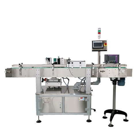 Manual Labeling Machine Round Bottle Packing Machinery By Hand...