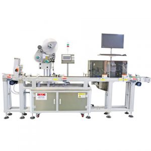 Fruit Bag Top Labeling Machine