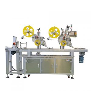Auto Corn Starch Bag Labeling Machine