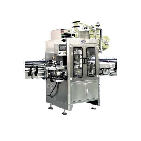 Round Or Square Bottle Labeling Machine , One Side Sticker Label...