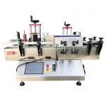 Two Sides Plastic Bottles Adhesive Sticker Labeling Machine
