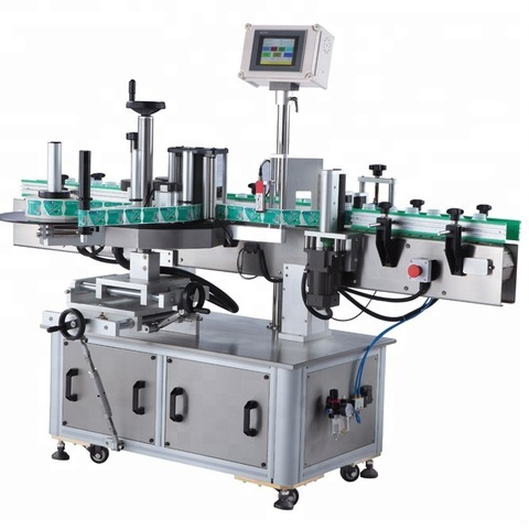 Single Side Sticker Labeling Machine - Round Bottle Sticker...