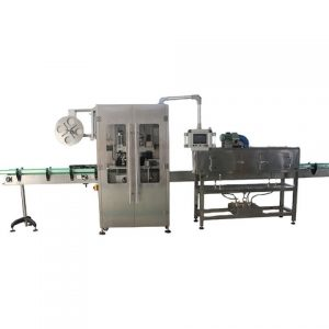 Automatic Case Top And Bottom Side Labeling Machine