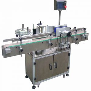 Auto Toothpaste Soft Fiber Tube Labeling Machine