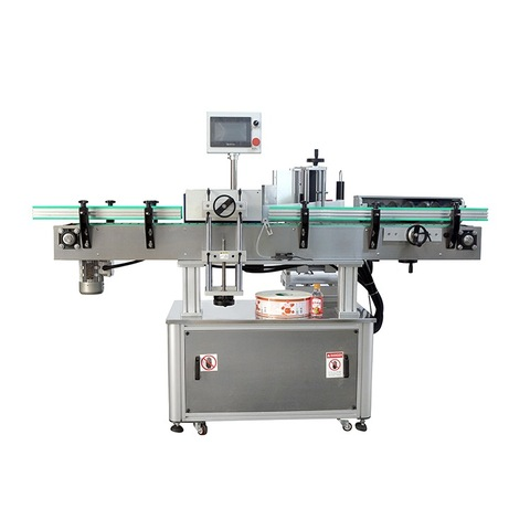 Automatic Double sided Labeling Machine for traditional herbal lotion...