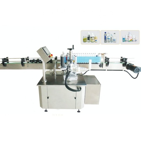 Hanchen Semi-Automatic Round Bottle Labeling Machine...