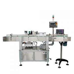 6000bph Automatic Front Back Stickers Label Labeling Machine