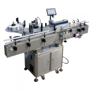 High Accuracy 9ml Glass Jar Labeling Machine