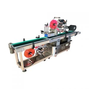 Oil Bottle Label Pasting Machine