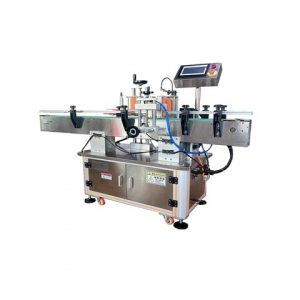 Flat Bottles Two Side Sticker Labeling Machine