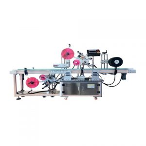 Automatic Double Sides Adhesive Sticker Labeling Machinery