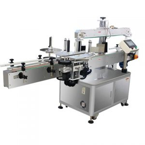 Flat Round Bottle Automatic Labeling Machine