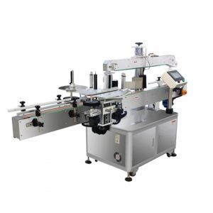 Automatic 2 Sticker Top Bottom Labeling Machine