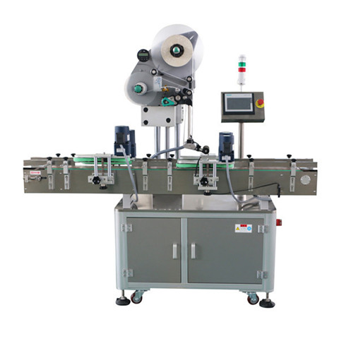 semi automatic round bottles syringe vials labeling machine with...