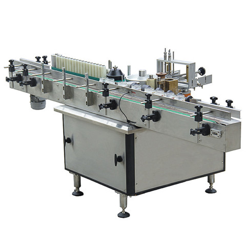 MT-50 Semi-automatic Round Bottle Labeler Labeling Machine...