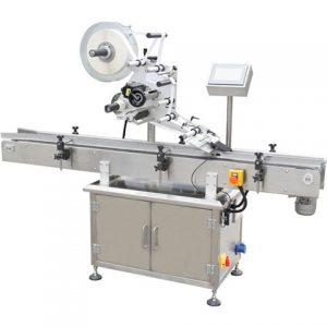 Automatic Double Sides Flat Labeling Machine For Jars