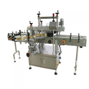 Automatic Round Alcohol Sanitizer Gel Bottle Labeling Machine
