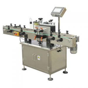 Automatic Adhesive Sticker Round Cans Labeling Machine Manufacturer