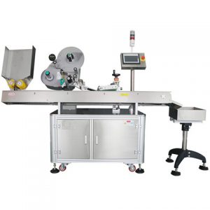Automatic Bottom Label Applicator
