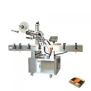 Eyeshadow Box Bottom Labeling Machine For Beauty Products