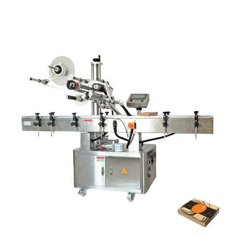 Automatic round bottles labeling machine By Shanghai Cosmos...