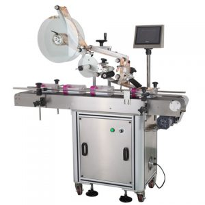 Paper Carton Top Surface Labeling Machine