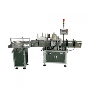 Automatic Plastic Spout Pouch Labeling Machine