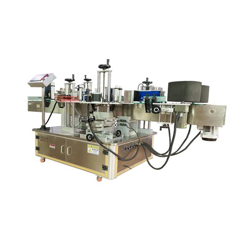 UAE customer orders linear labeling machine metal cans labeller with...