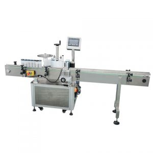 Labeling Machine On Bottom Surface