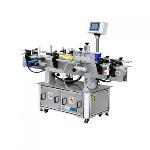 Automatic Front Back Flat Round Bottle Labeling Machine